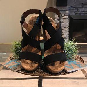 Lucky Brand Wedge Heels Size 7.5